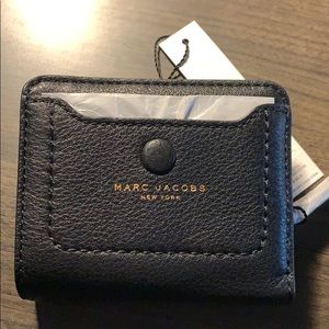 Marc Jacobs Empire City mini leather wallet NWT